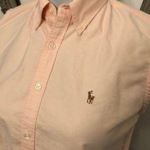 c90bc0870fd74 ralph lauren sport Tops - Ralph Lauren sport pastel pink sleeveless top 8